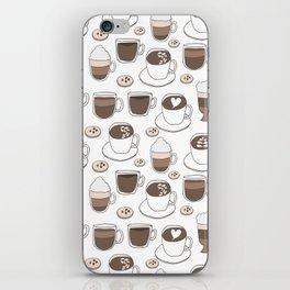Coffee Cups iPhone Skin