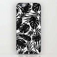 Urban Jungle White iPhone Skin