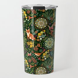 Treasures of the emerald woods Travel Mug