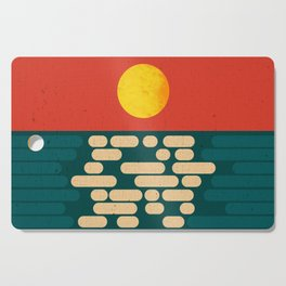 Sun Over The Sea - Afternoon Cutting Board