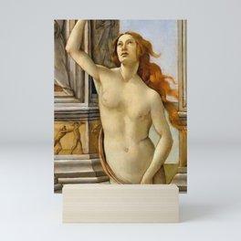 "Sandro Botticelli ""The Calumny of Apelles"" detail Mini Art Print"