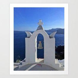 Greece Sea Art Print