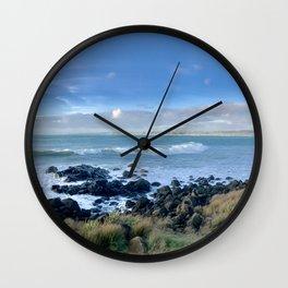 Manu Bay    Raglan Wall Clock