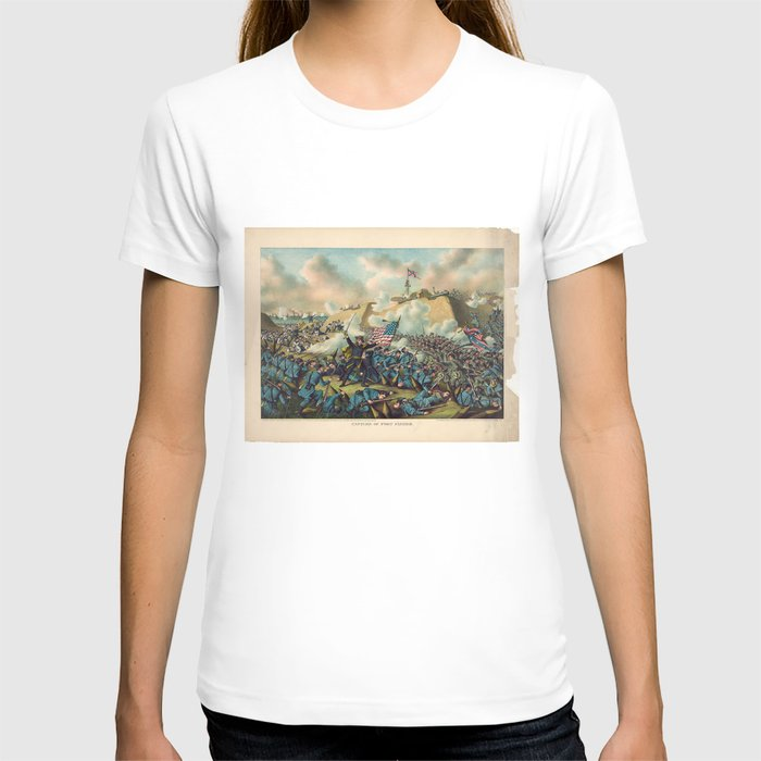Civil War Capture of Fort Fisher January 15 1865 T-shirt