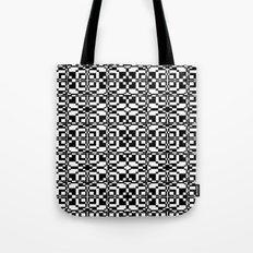 Black and White Tile 6/9/2013 Tote Bag