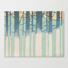 Fibonacci Trees Canvas Print