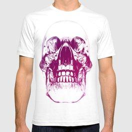 purple crystal skull T-shirt