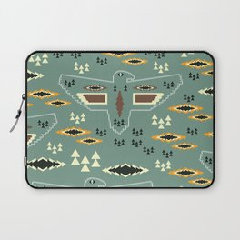 Native pattern with birds Laptop Sleeve
