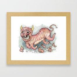Beastlings Framed Art Print