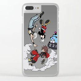 Drop into the Dream Clear iPhone Case