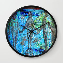 Life And (Slow) Death In Beach City (Or Keepin' My Mouth Shut) Wall Clock