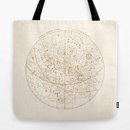 Visible Heavens - Gold Tote Bag