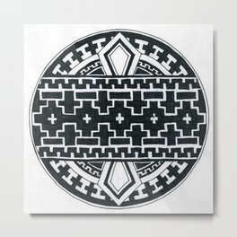 Geometric like mandala thing Metal Print