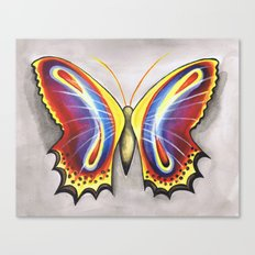 Colorfly  Canvas Print