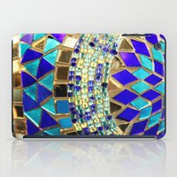 photograph iPad Cases featuring mosaic and beads [photograph] by Sylvia Cook Photography