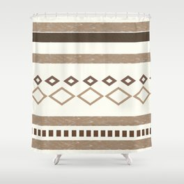 Out West (I) Shower Curtain