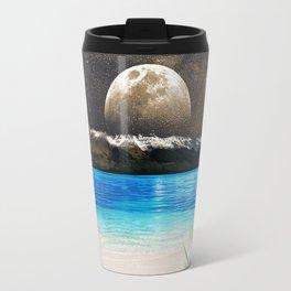 Aloe Vera Moon Beach Travel Mug