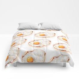 Fried Egg Pattern Comforters