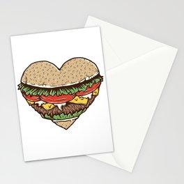 Hamburger Lover Stationery Cards