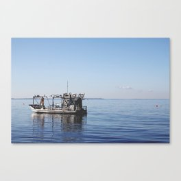 The Fisherman. Canvas Print