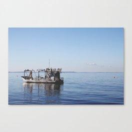 The Fisherman. Canvas Print