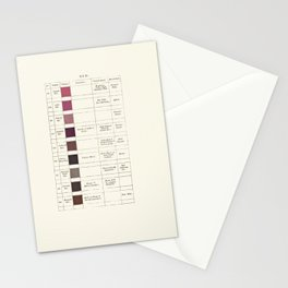 Werner's nomenclature of colour Stationery Cards