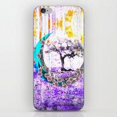 MOONLET TREE iPhone Skin