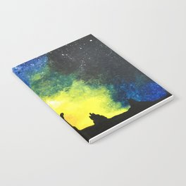 Desert Galaxy Notebook