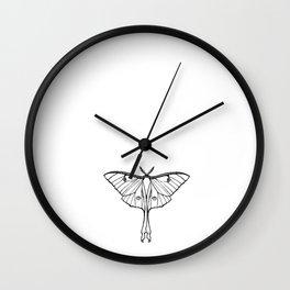 Luna Moth, The Many Hopeless Wall Clock