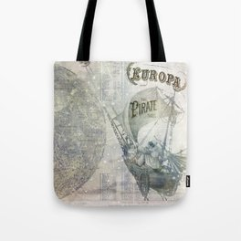 Europa and the Pirate Twins Tote Bag