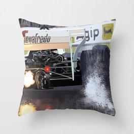 Birth of a Myth Throw Pillow