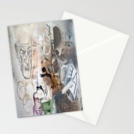 Becoming Human with First Cup Stationery Cards