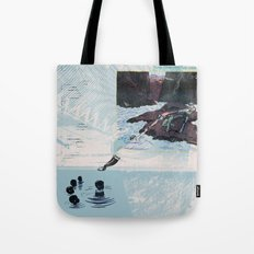 New Discoveries and Dangers Tote Bag