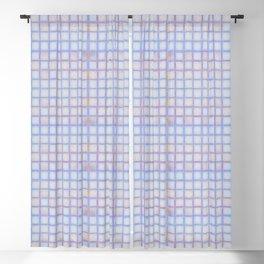 Ballpoint Graph Paper (fine) Blackout Curtain