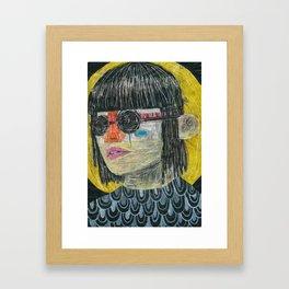 NONCHALANT NEGLECT Framed Art Print