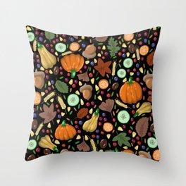 Thanksgiving #4 Throw Pillow