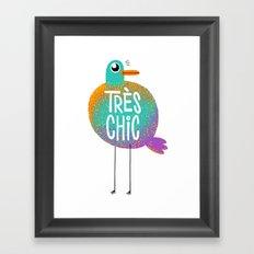 Très Chic Framed Art Print
