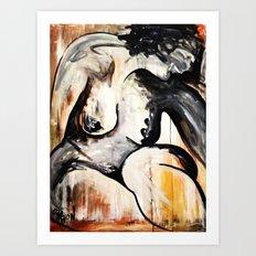 Black Tears Art Print