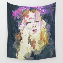Path - Abstract Portrait Wall Tapestry