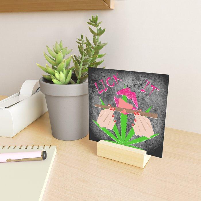Lick It #1 Mini Art Print