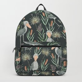 The Magnificent Shoebill Pattern Backpack