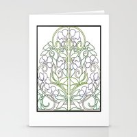 plants Stationery Cards featuring Plants by Abundance