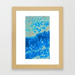 heaven's static haze Framed Art Print