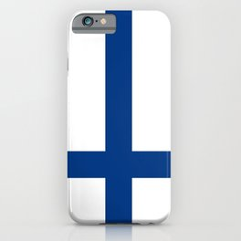 Flag of Finland Finnish Flag iPhone Case