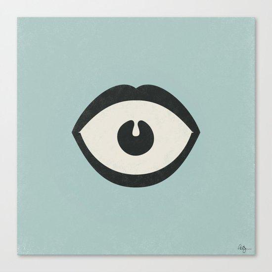Eye Scream Canvas Print