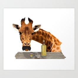 El Girafo Art Print