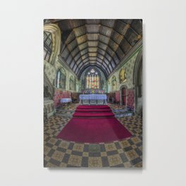 Faith Is The Victory Metal Print