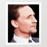 Hiddleston Art Print