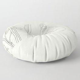 Incomodidad y placer Floor Pillow