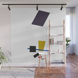 Geometric Abstract Malevic #3 Wall Mural